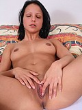 Sweet Brunette Teen Masturbating Her Lil Pussy - Picture 12