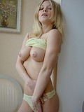 Stunning Blonde Teen Fingers Her Amazing Pussy - Picture 9